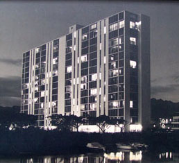 Atkinson Towers in 1961, click here to upload multiple pictures of the apartment, building, and the exterior views